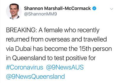 突发!全澳第3例死亡,确诊79例!感染男子确诊前违规上班!两名澳洲军人确诊,曾到访国防部总部!澳航大幅削减数十趟航班!