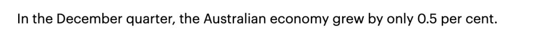 有救了!澳股动荡、澳币暴跌,澳洲经济几乎崩溃!莫里森狂掷$100亿澳币救市!